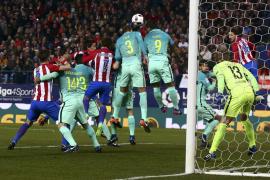 El Barcelona gana al Atlético y da un paso hacia la final de la Copa del Rey