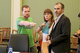Barceló afea a Podemos que cuestione los proyectos que se pagarán con la ecotasa