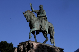 El rey Jaume I cumpliría 809 años