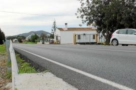Muere atropellada una mujer de 68 años en la carretera de Sant Carles