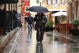 Mallorca y Menorca triplican los valores normales de precipitaciones en enero