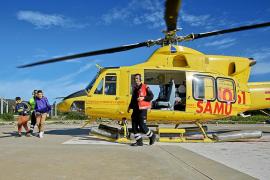 El vuelo en helicóptero de los embajadores del IES Blanca Dona