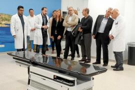 El servicio de radioterapia ha evitado más de 2.000 desplazamientos a Mallorca