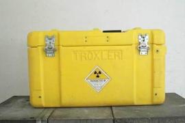 Localizan el maletín radioactivo robado en Santa Coloma