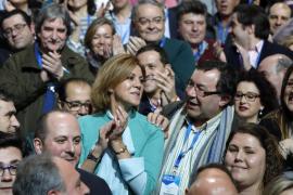 Cospedal saca pecho de la actuación del PP contra la corrupción y compara a Rajoy con Rafa Nadal