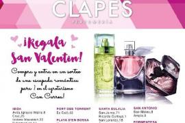Regala San Valentín con Perfumerías Clapés