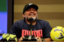 La Policía acude al hotel de Maradona en Madrid tras una fuerte discusión con su pareja