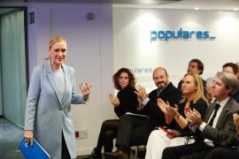 Cristina Cifuentes deja la Gestora y presenta su candidatura a liderar el PP de Madrid