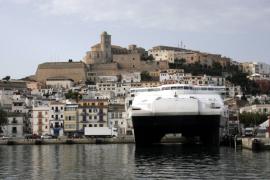 El número de cruceristas registrados en Eivissa aumentó hasta noviembre un 28%