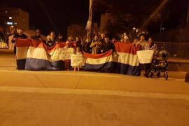 Concentración en Ibiza contra la corrupción de Paraguay