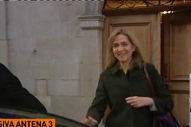Primeras imágenes de la infanta Cristina tras conocer la sentencia del caso Nóos