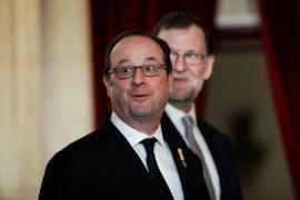 Rajoy y Hollande se muestran de acuerdo en la necesidad de avanzar en el proceso de integración europea