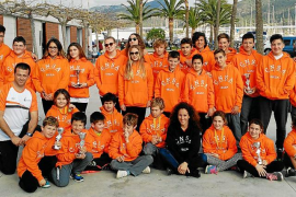 El CN Sant Antoni se luce en las dos primeras citas de la temporada