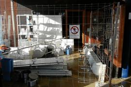 Lavado de cara en la estación marítima de Formentera a petición de las navieras