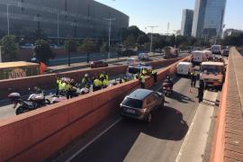 Un detenido por robar un camión de butano y circular en contra dirección por Barcelona