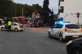 Detenido en Sant Antoni por conducir bebido, drogado, a gran velocidad y sin luces
