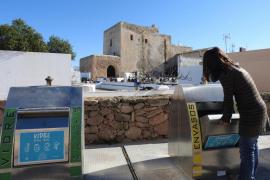 Formentera registra un 7,27% más de residuos reciclados en 2016