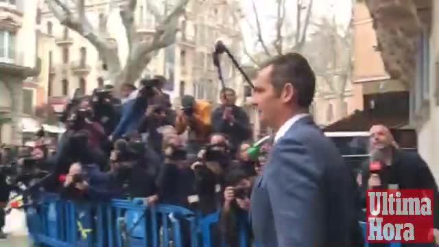 Iñaki Urdangarin y Diego Torres, en libertad sin fianza