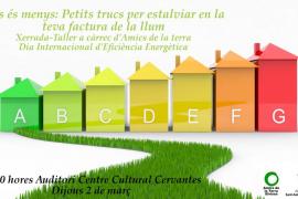 Sant Antoni ofrecerá el 2 de marzo un coloquio sobre el ahorro energético