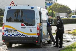 Un conductor bebido es interceptado tras causar un accidente y darse a la fuga en Vila