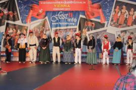 La Colla de ball pagès de Formentera actúa en el VI Festival Internacional de Folklore de Viena