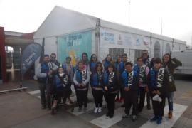 18 alumnos de APNEEF disfrutaron ayer de la Setmana del Mar