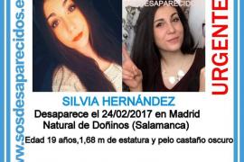 Desaparecida desde el viernes una joven de 19 años vista por última vez en Madrid
