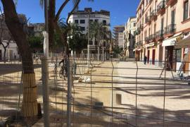 La plaza del Parc de Vila reabrirá hoy a las 19.00 horas