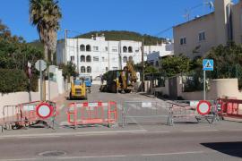 Santa Eulària inicia las mejoras de la accesibilidad en la calle Bulgaria