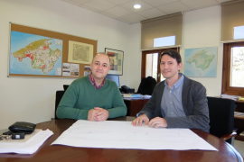 El Consell construirá una rotonda de acceso en Costitx para mejorar la seguridad de la carretera Inca-Sineu