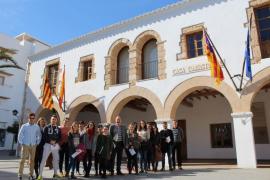 Santa Eulària contrata a nueve jóvenes para introducirles en el mercado laboral