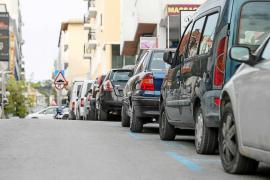 Protestas en Sant Antoni por el retraso en la implantación del sistema de rotación de coches
