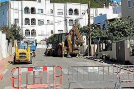 Arrancan las mejoras del acceso a los colegios Sant Ciriac y Santa Eulària