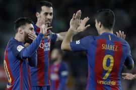 El Barça golea al Sporting en el Camp Nou