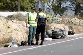 Formentera registró cuatro de las diez muertes en carretera en las Pitiüses