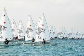 Seis regatistas del equipo de la clase Laser 4.7 del CN Ibiza acuden al Campeonato de Balears