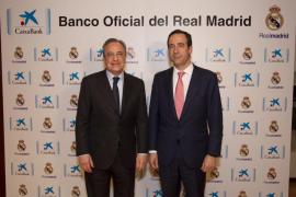 CaixaBank patrocinará al Real Madrid hasta 2020