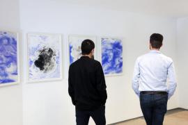 El MACE expondrá durante un año la obra 'Sky studies - black and blue' de Jim Hodges