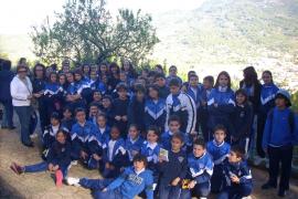 Alumnos del colegio Sant Vicenç de Paül de Inca visitan Can Prunera