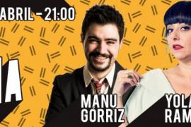 Manu Górriz, Yolanda Ramos y Txabi Franquesa, en Trui Teatre con 'Las noches de el Club de la Comedia'