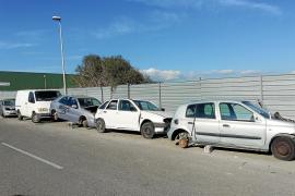 Montecristo, cementerio ilegal de coches