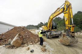 Empiezan las obras de interconexión de la desaladora de Santa Eulària