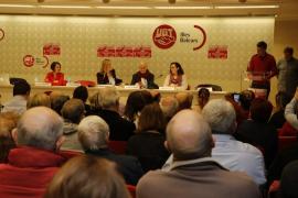 'Baleares con Pedro Sánchez' pide el apoyo de Francina Armengol