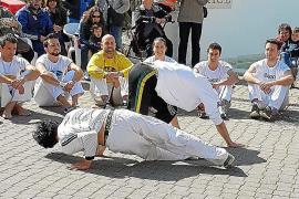 Exhibición de Capoeira en la Plaza de la Paz