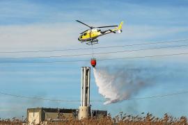 Sin helicóptero en Ibiza