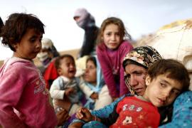2 de cada 3 niños sirios han sido testigos de la muerte violenta de un familiar