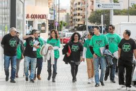Los afectados por las hipotecas piden la suspensión de los desahucios en Ibiza
