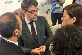Armengol se queja al ministro Nadal por el veto a la tarifa plana interislas