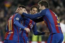 El Barça firma una remontada para la historia