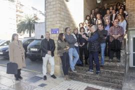 """Minuto de silencio en los Juzgados de Ibiza por """"las víctimas"""" de la justicia"""